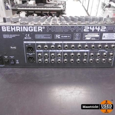Behringer XENYX 2442fx mengpaneel