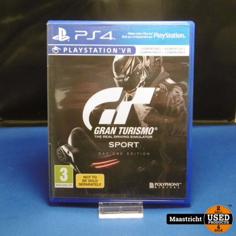 Gran Turismo Sport Day One Edition Playstation 4 VR
