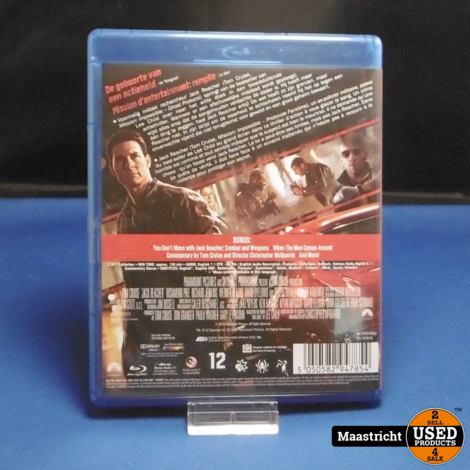 Jack Reacher Blu Ray