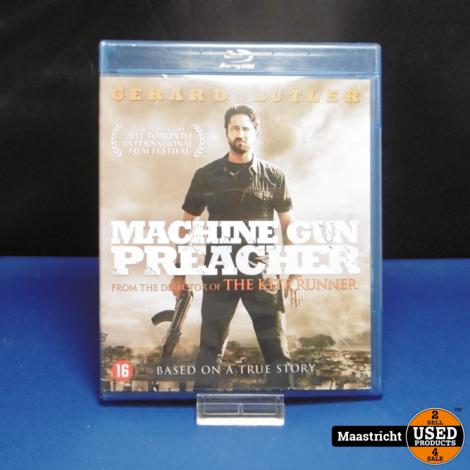 Machine Gun Preacher Blu Ray