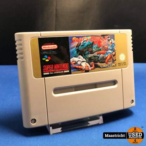 Street Fighter II - SNES