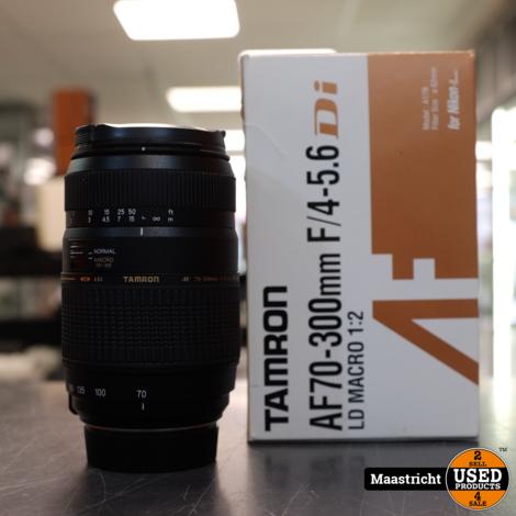 Tamron AF70-300MM f/4-5.6 Lens Z.G.A.N. voor Nikon