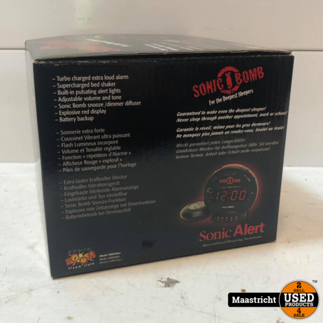 Sonic Bomb Wekker | in doos (elders voor €49,99)
