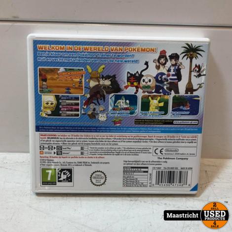 Pokemon Moon - Nintendo 3DS (Ook voor 2DS)