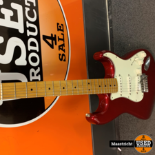 Fender Stratocaster standard, rood (Mexico) | nwpr. ca. 500 euro