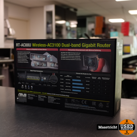 Asus RT-AC88U Wireless-AC3100