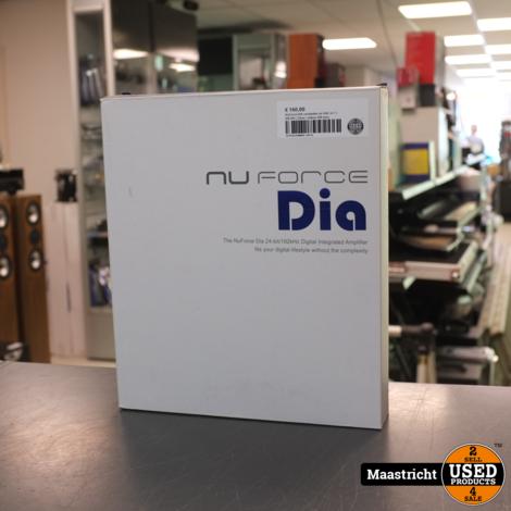 NuForce DIA versterker en DAC in 1 | NIEUW | Zilver | elders 299 euro