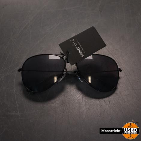 Pilotenbril Banned 1976 AV+ Black met UV400 en polarisatie filter | nwpr 34,50 euro