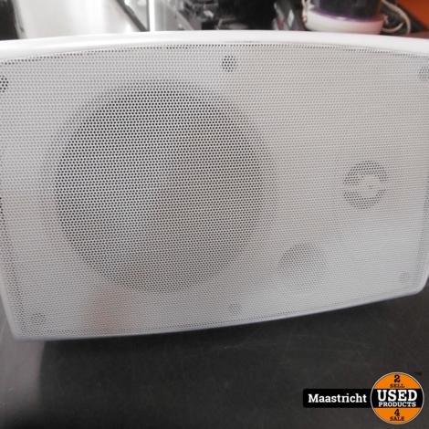 speaker met wandbeugel, geschikt voor 100 volt PA systeem | Nieuw | wit