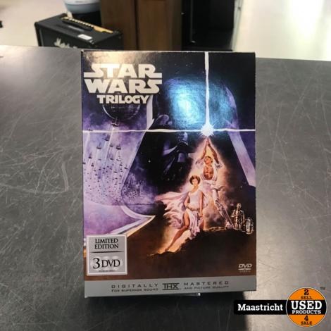 Star Wars Trilogy (DVD, 2005, 3-Disc Set, Full Frame Limited Edition)