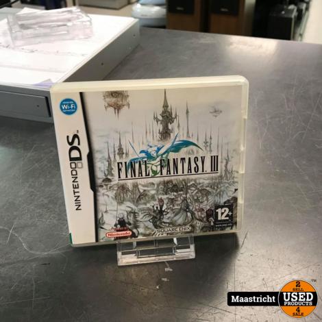 Final Fantasy III Nintendo DSNintendo DS