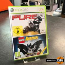 Double Pack Pure + Lego Batman Xbox 360