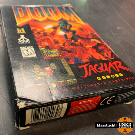 DOOM Jaguar - Atari Game , Elders voor 79.99 Euro