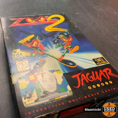 Zool 2 - Atari Jaguar Game , Elders voor 39.99 Euro
