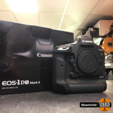 canon Canon EOS-1DX Mark ii Body + 3 extra accu's en av pro cf card 256GB | nwpr € 5.899,99