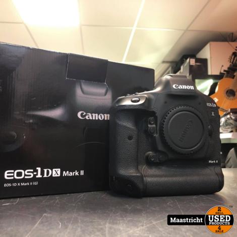 Canon EOS-1DX Mark ii Body + 3 extra accu's en av pro cf card 256GB | nwpr € 5.899,99