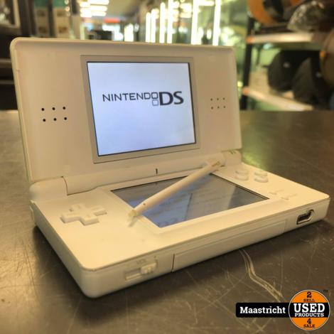 Nintendo Ds Lite Wit - In zeer nette staat