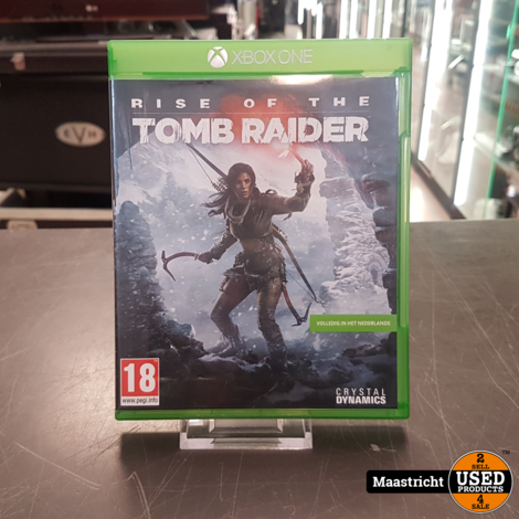 Xbox One Game - Rise Of The Tomb Raider