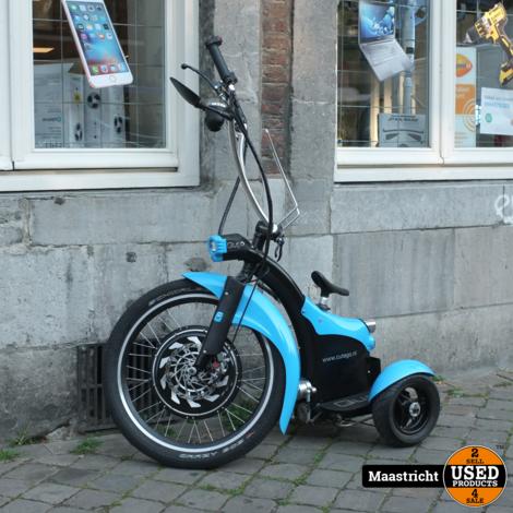 Qugo 3-wieler Segway blauw | elders voor €. 1.200,-