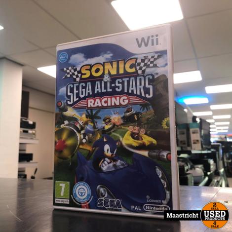 Sonic Sega All-Stars Racing - Nintendo Wii