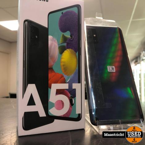 Samsung Galaxy A51 Prism Crush Black 128GB Nieuwstaat