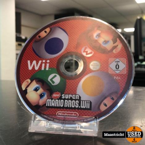 Super Mario Bros Wii - Nintendo Wii (Disc Only)