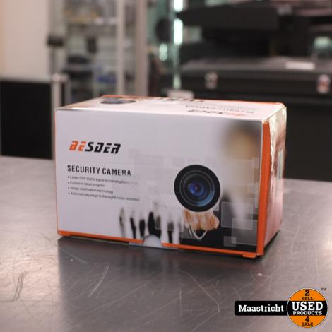 Besder IP camera 8 mm wijd met motion detectie - smart wares wifi camera voor buiten en binnen