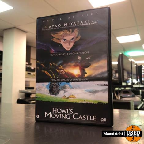Howl`s Moving Castle - DVD