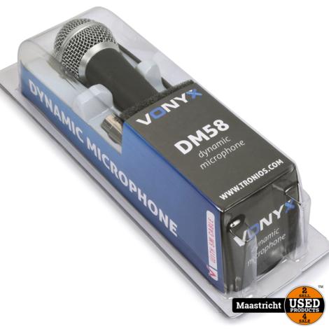 VONYX DM58 Dynamische microfoon | NIEUW | incl. kabel