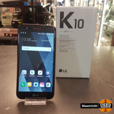 LG K10 2017 | Zwart