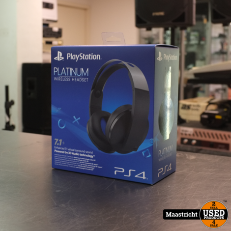 Playstation Platinum Wireless Headset | NWPR €149,-