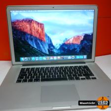 Apple Macbook Pro 15 inch  medio 2009, nette staat