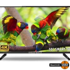 Elements ELT50DE910B  50 inch Ultra-HD Android Smart-Tv | NIEUW met garantie