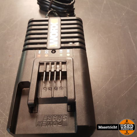WORX WA3860 20V Power Share acculader