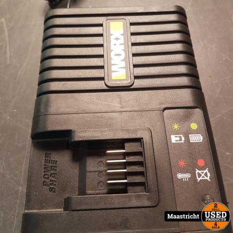 Worx lader WA3867 20V 5.0Ah Bare Tool