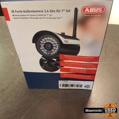 Abus IR Buitencamera 2,4 Ghz (Nwpr. 169,99 Euro)