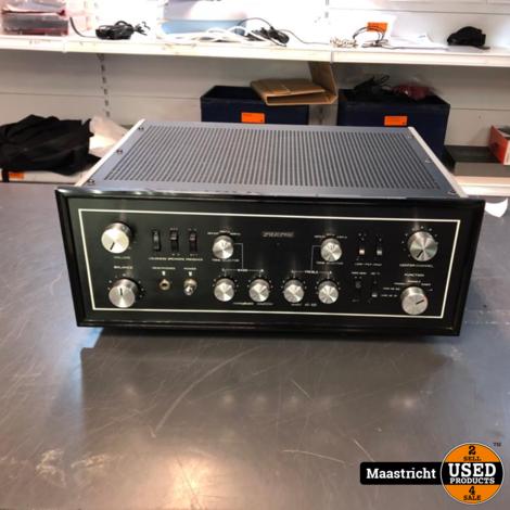 SANSUI AU 111 vintage buizenversterker 2x 40 watt, gereviseerd en mét garantie