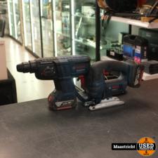 Bosch Professional GBH 18V-20 accu Boschhammer en GST 18V-Li B decoupeerzaag set