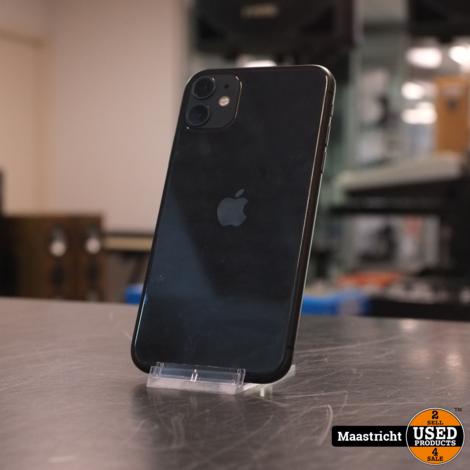 Apple iphone 11 (128gb) Black (hele kleine verkleuring in het scherm rechts boven)