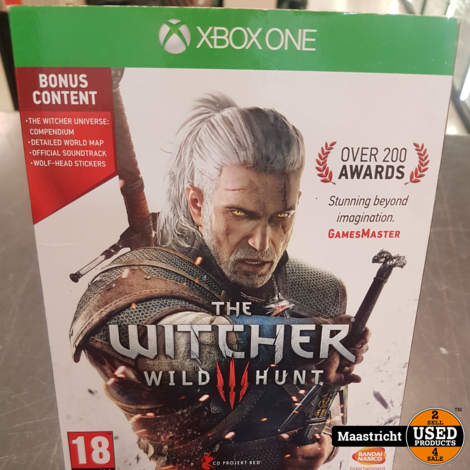 The witcher Wild Hunt - XBOX One Game