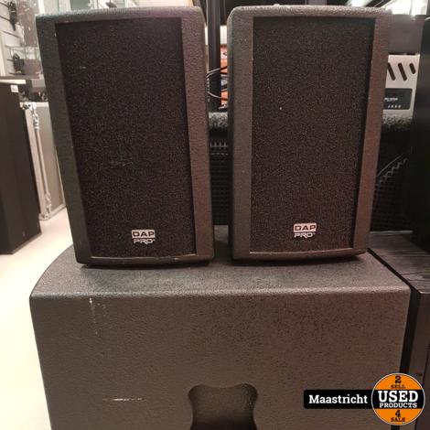 DAP Club Mate I speakerset – subwoofer + 6,5 inch speakers | nwpr 625 euro