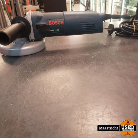 Bosch GWS 1100 + SDS Click haakse slijper | nwpr 119 euro