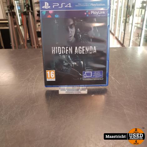 Hidden Agenda - PS4 Game