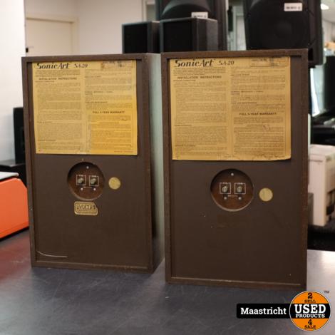 Bose Sonic Art SA-20 vintage speakerset