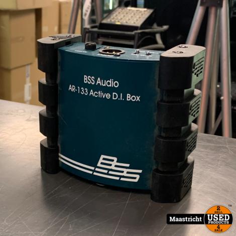 BSS AR 133 premium DI-box met fantoomvoeding