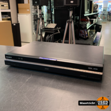 Sony RDR-HX785, High def. Multimedia interface & DVD-recorder, incl. 160 GB HDD.