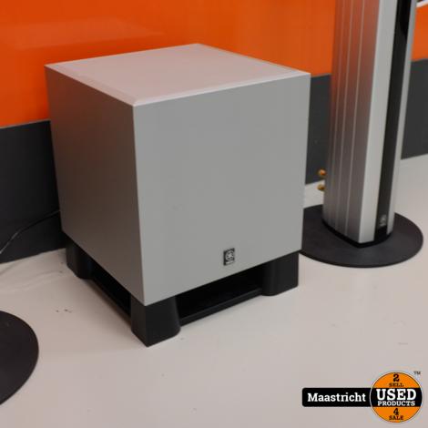 YAMAHA RX-V559 6.1 surround receiver + speakers en subwoofer