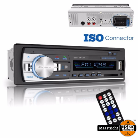 Nieuwe autoradio / Bluetooth / MP3 speler  4x 60 watt