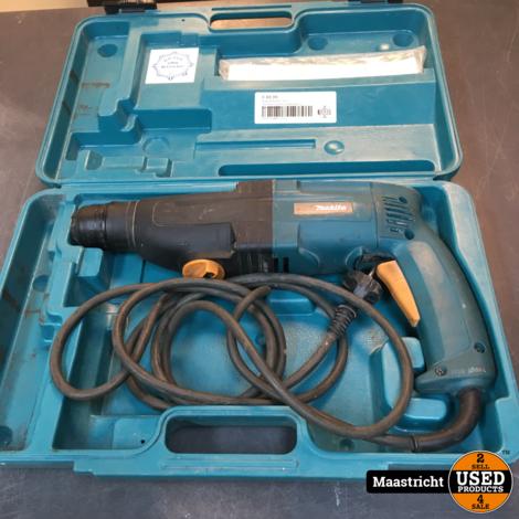 Makita HR2410  SDS hamerboormachine 680 watt, in gebruikte staat