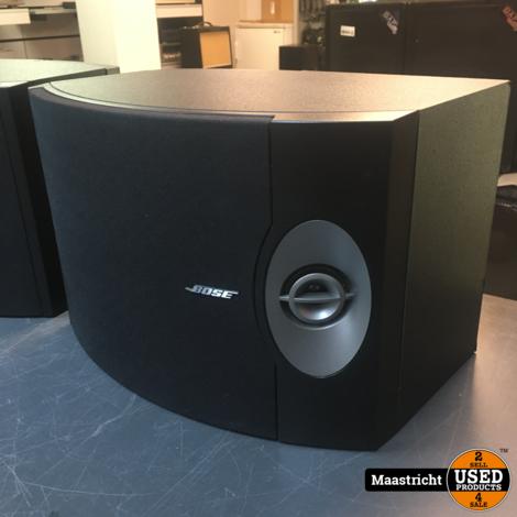 Bose 301 V speakerset, zwart, in zeer goede staat | nwpr 399 euro
